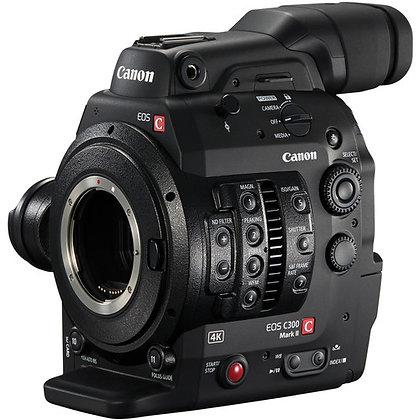 Canon C300 MKII EF/PL Super 35mm 4K