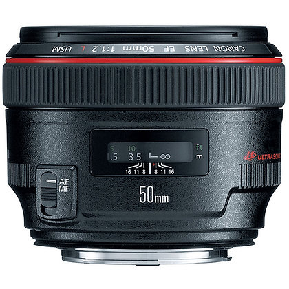 Canon EF 50mm f/1.2 USM Série L Lens