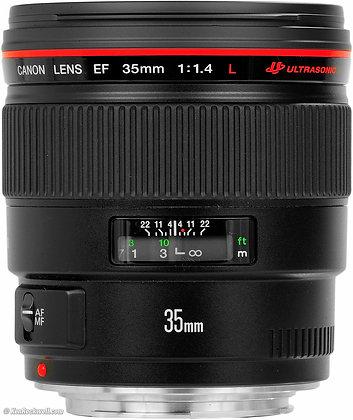 Objectif Canon EF 35mm f/1.4 Série L