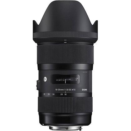 Objectif Sigma Art EF 18-35mm f/1.8 DC HSM
