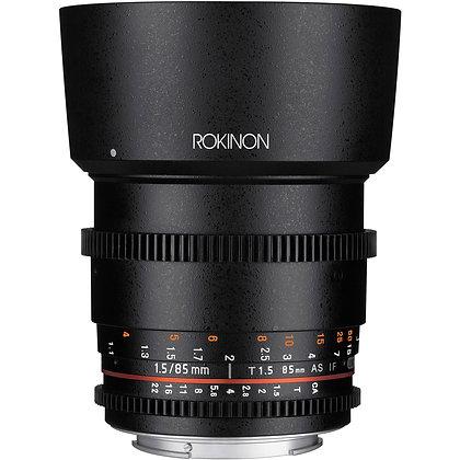 Objectif Rokinon Cine DS EF 85mm f/1.5