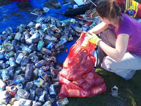 Lake Cleanups in Alberta