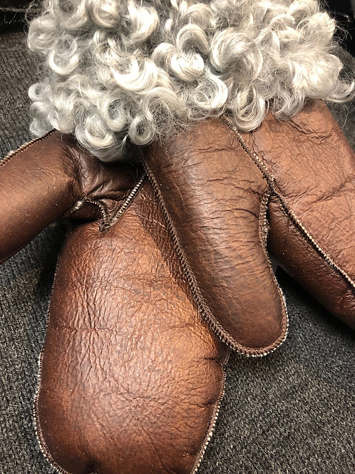 Handske i lammskinn
