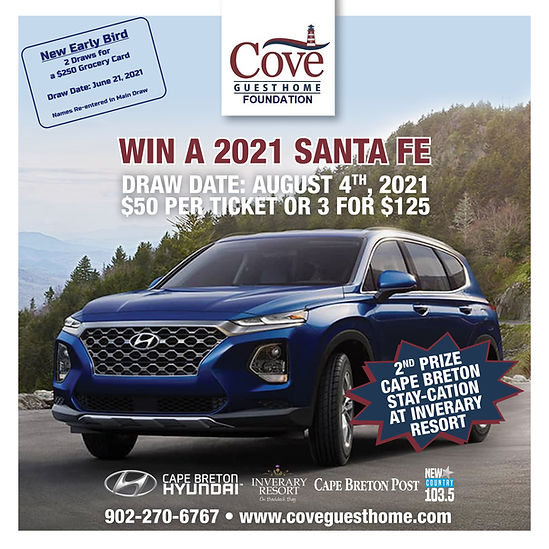 Cove Foundation Car Lottery - Early Bird