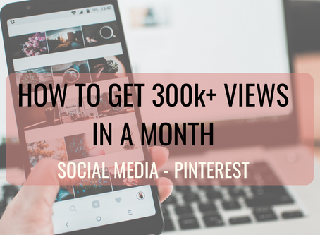 Pinterest growth in less than a Month