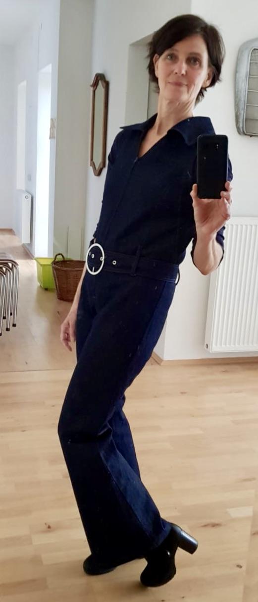 Jeans Overall ärmellos