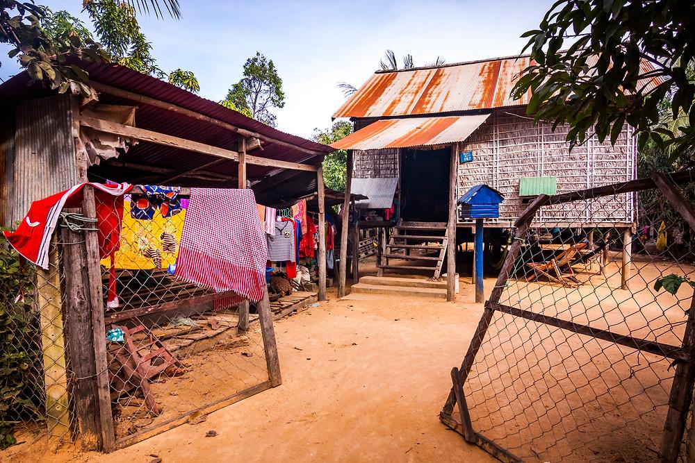 Stilt Houses, Siem Reap, Cambodia