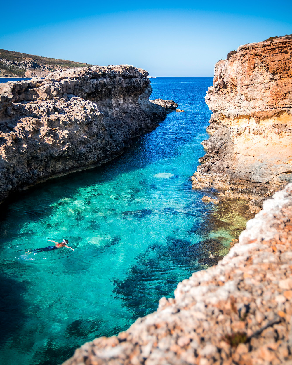 Comino Island, Blue Lagoon Boat Trip, Malta, Mediterranean Sea