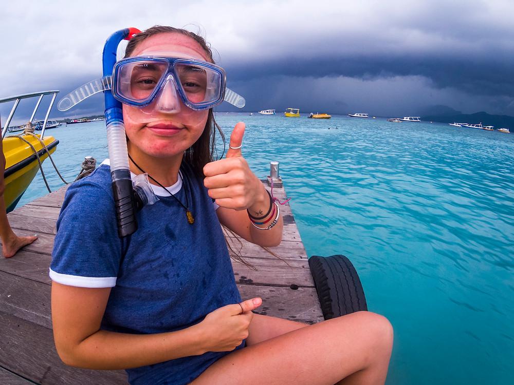 Snorkelling, Gili Trawangan, Indonesia