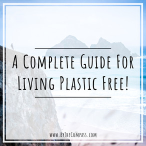 How To Avoid Single-Use Plastics! A Complete Guide To Living PLASTIC FREE!