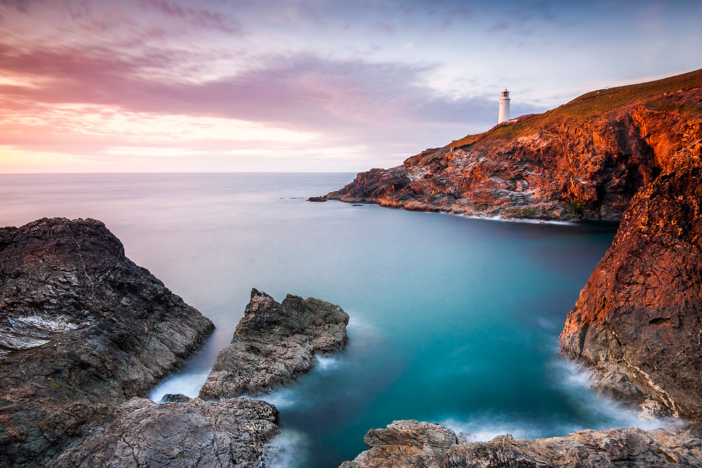 Sunset at Trevose Head, Cornwall. Best Sunset Spots Top 5