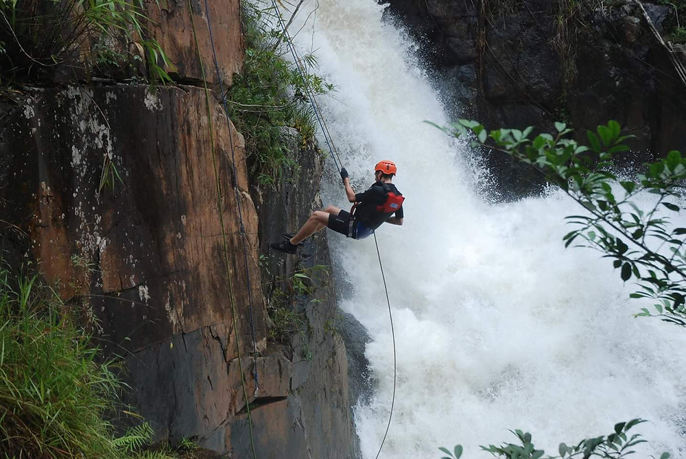 Abseiling, Canyoning, Da Lat, Vietnam