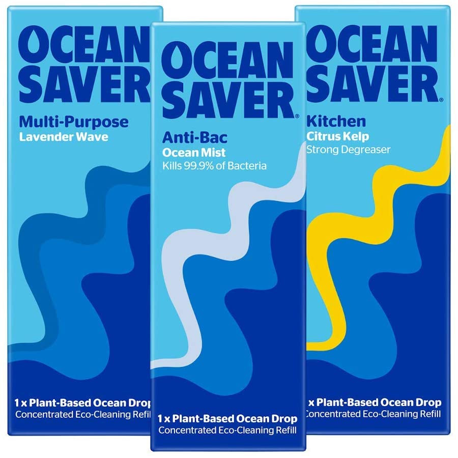 eco friendly sustainable plastic free zero waste ocean saver cleaning product pods