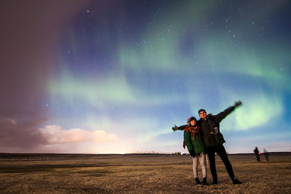 The Northern Lights, Near Selfoss, Iceland