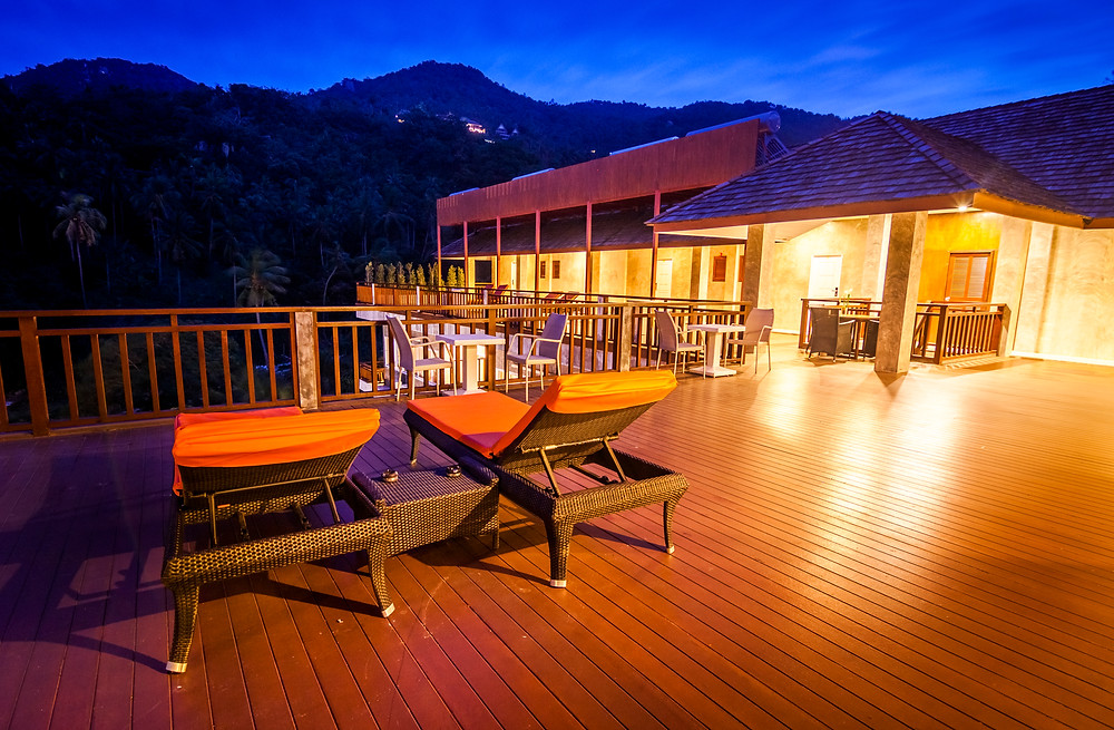 Ban's Diving Resort, Koh Tao, Thailand, Blue Hour