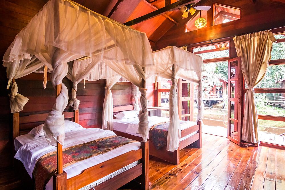 Natural Sukau/Bilit Resort, Sabah, Malaysian Borneo