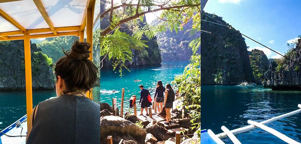 Boat Tour, Kayangan Lake, Coron Island, Palawan, The Philippines