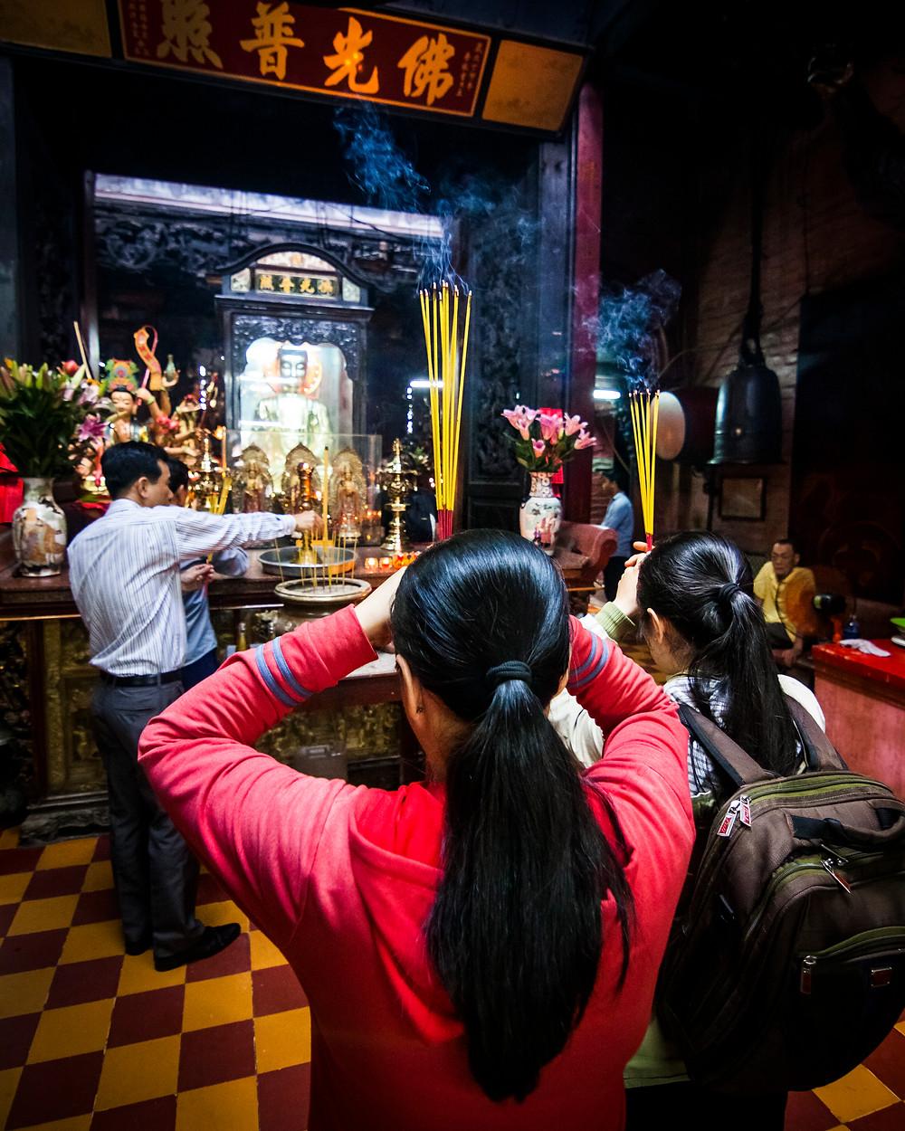 Jade Emperor Pagoda, Ho Chi Minh City (Saigon), Vietnam