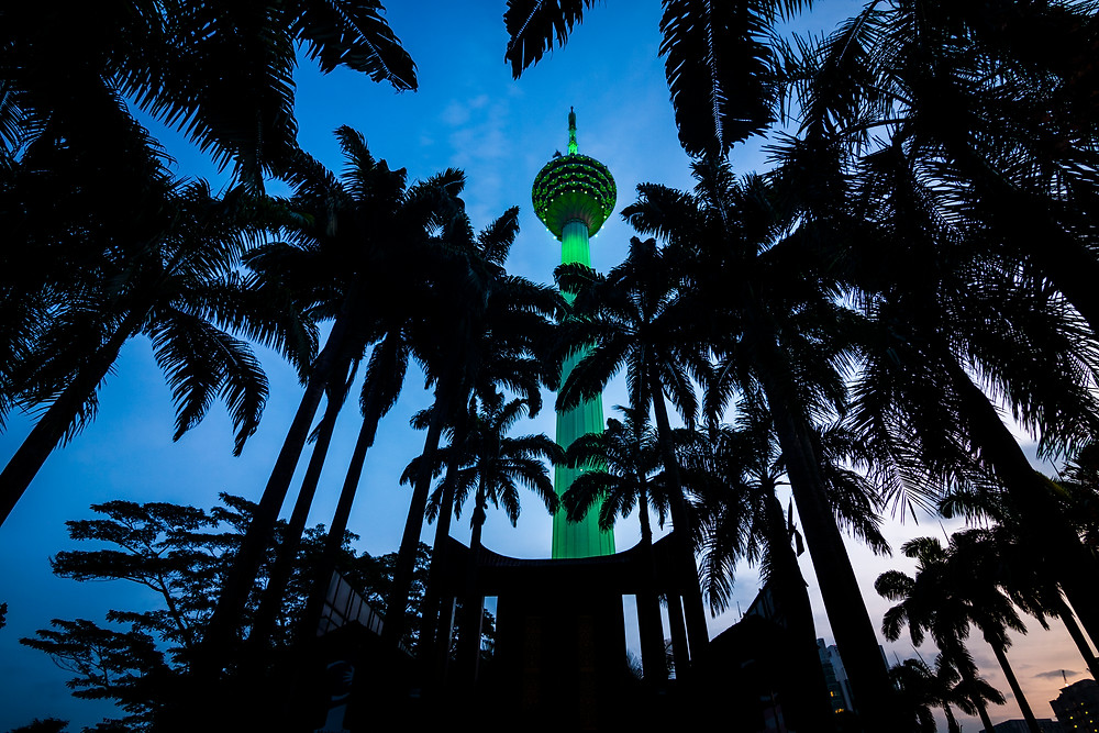 KL Tower, Kuala Lumpur, Malaysia, Sunrise