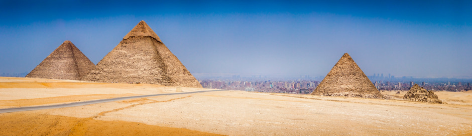 Cairo and The Pyramids, Egypt