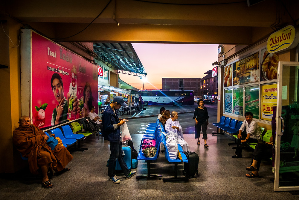 Arcade Bus Station, Chiang Mai, Thailand