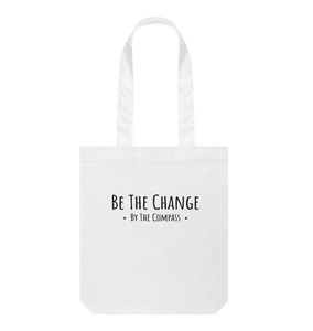 by the compass organic cotton sustainable ethical eco friendly reusable tote bag