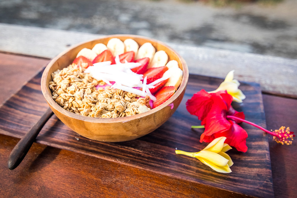 Smoothie Bowl at Tropical Juice Bar, Nusa Lembongan, Indonesia