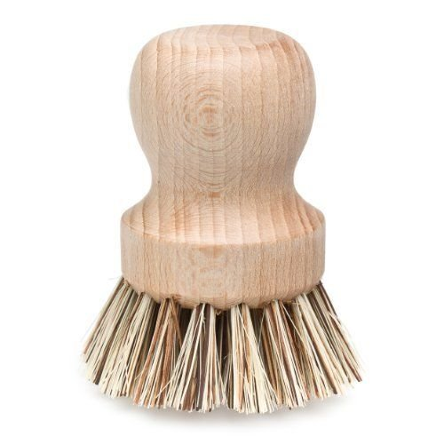 Redecker wooden pot brush natural zero waste synthetic free plastic pollution eco friendly