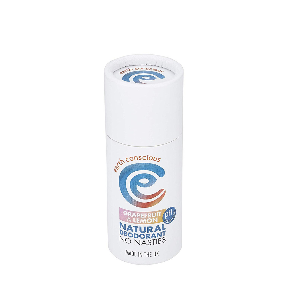 earth conscious deodorant Eco Friendly Ethical Sustainable Natural Zero Waste Plastic Free