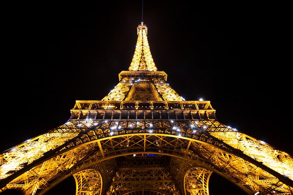 Eiffel Tower, Paris Light Show