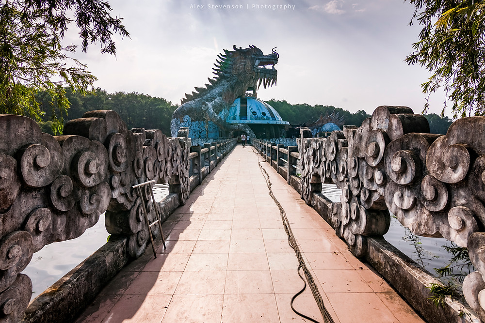 Ho Thuy Thien, Hue, Vietnam, Abandoned Waterpark
