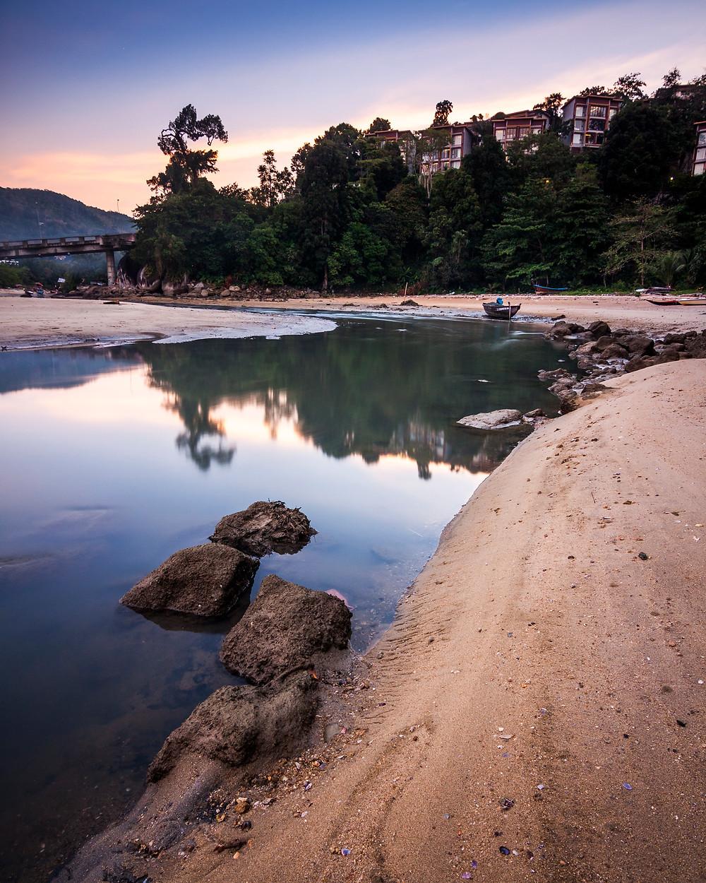 Patong Beach, Phuket, Thailand, Sunset