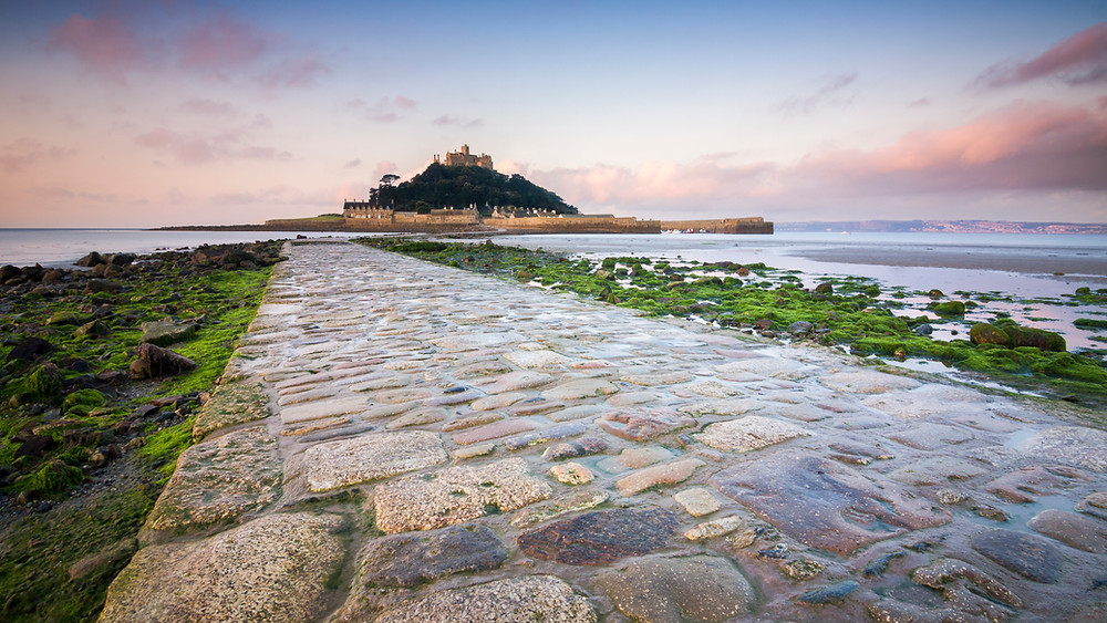 St Michael's Mount, Marazion, Sunrise, North Cornwall Coast Road Trip 1 Week 2 week Itinerary, landscape photography