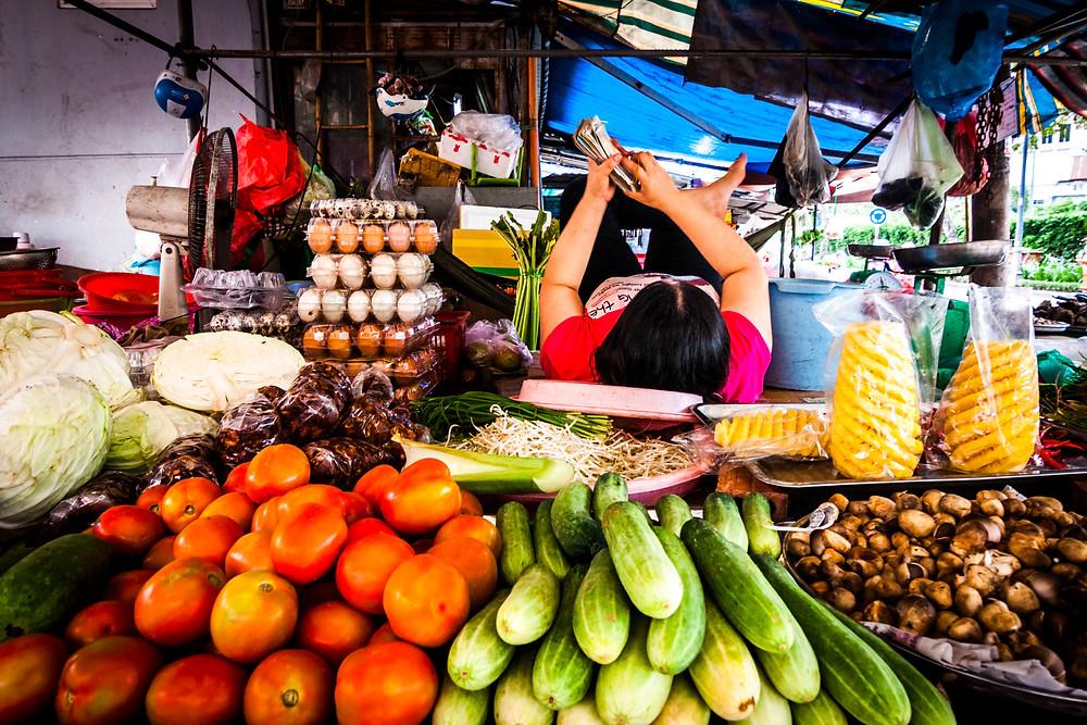 Thai Binh Market, Ho Chi Minh City (Saigon), Vietnam
