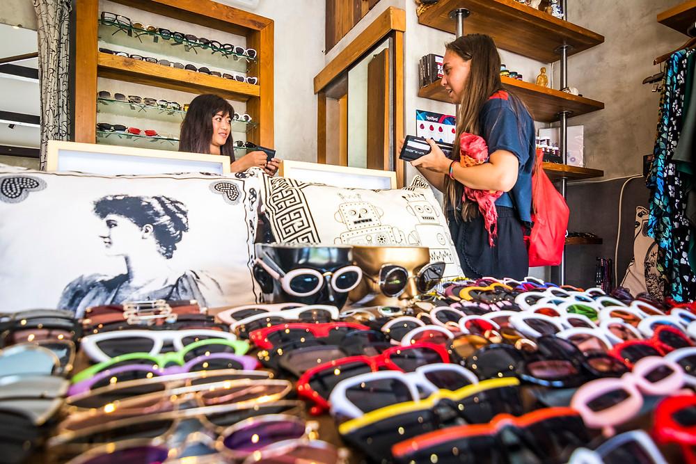 Shopping In Canggu, Bali, Indonesia