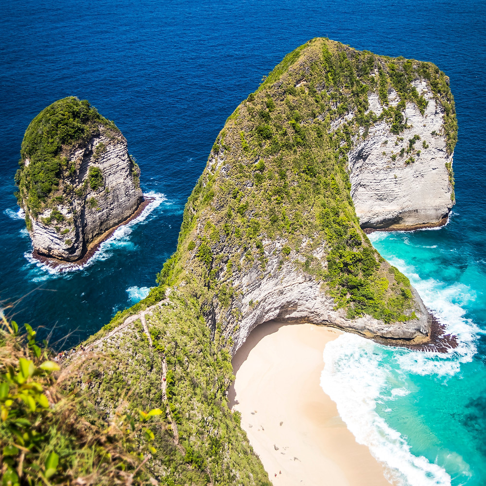 T-Rex, Kelingking View Point and Beach, Nusa Penida, Bali, Indonesia
