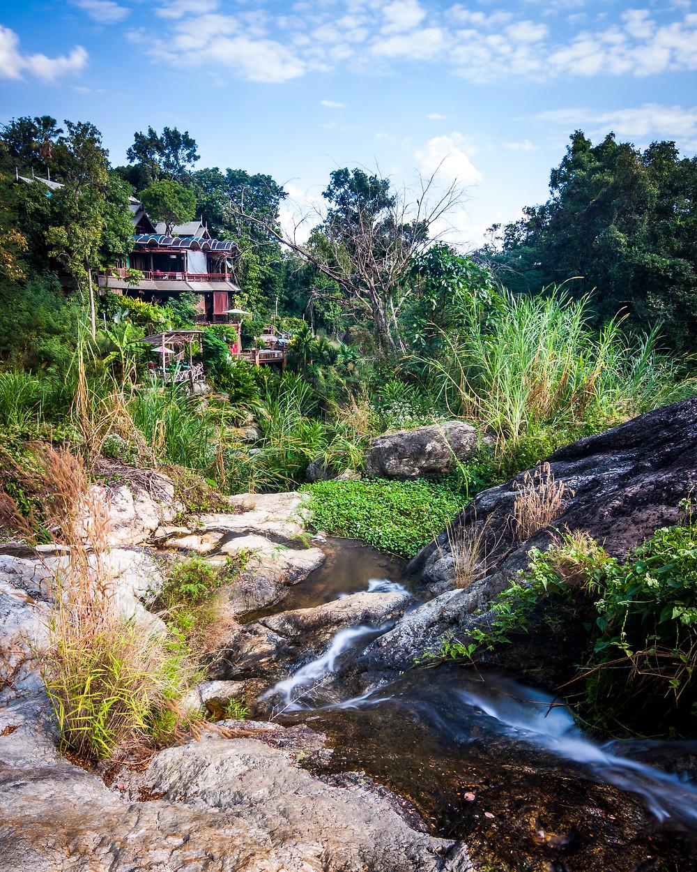 Wang Bua Ban Waterfall, Chiang Mai, Thailand