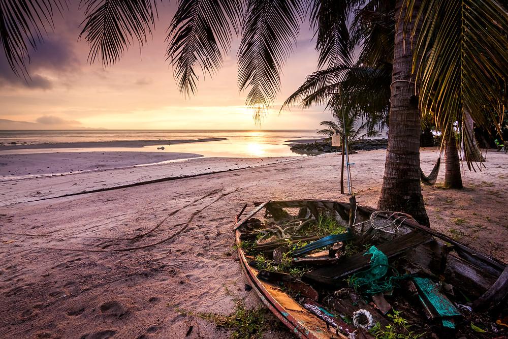 Sunset, Baan Tai, Koh Phangan, Thailand