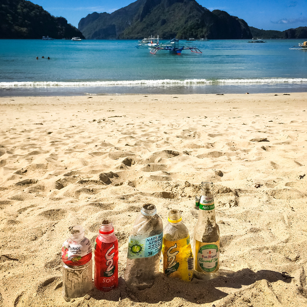 Plastic Pollution and Marine Litter In El Nido, Palawan, Philippines