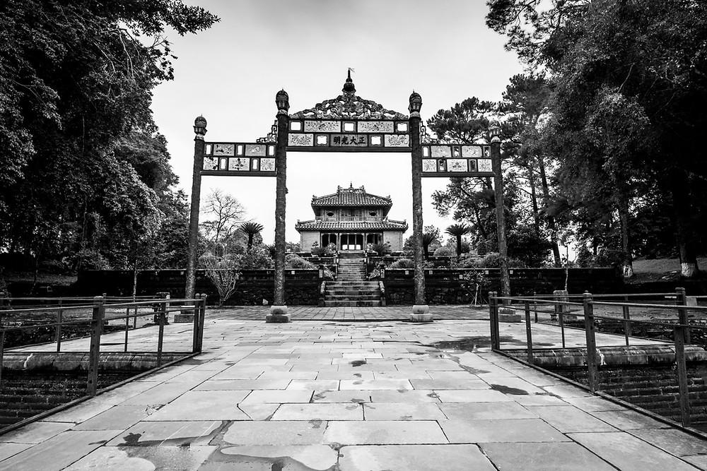 Minh Mang Tomb, Hue, Vietnam