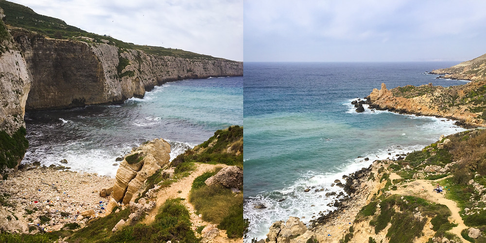 Plastic Bottles, Litter and Pollution, Fomm Ir Rih, Malta, Beach Clean Up