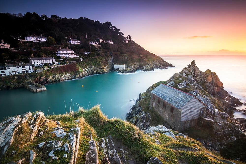 Sunrise At Polperro, Cornwall, Cornwall Road Trip 1 Week 2 week Itinerary guide