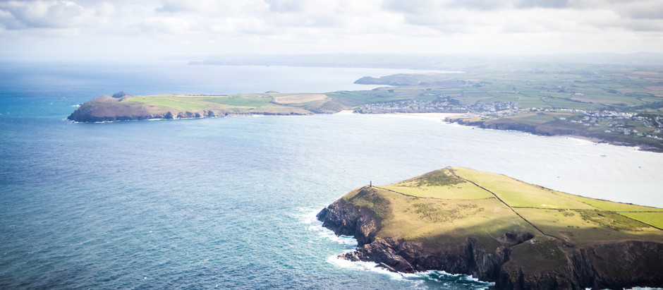 The BEST VIEWS In Cornwall (Amazing Photos From The AIR!)