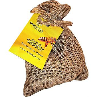 beebombs wildflower bee pollinator friendly seed bomb Zero Waste Plastic Free Eco Friendly Sustainable