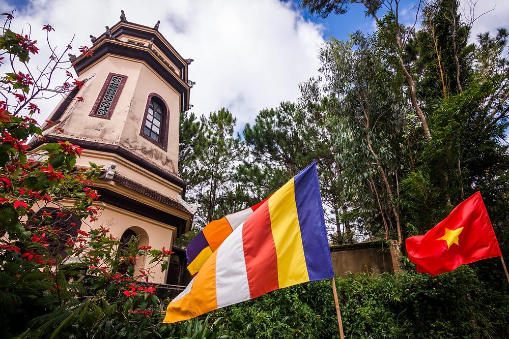 Linh Son Pagoda, Da Lat, Vietnam