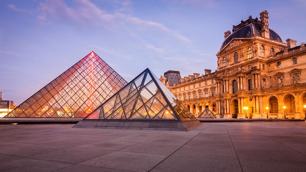 Louvre Museum at Sunrise