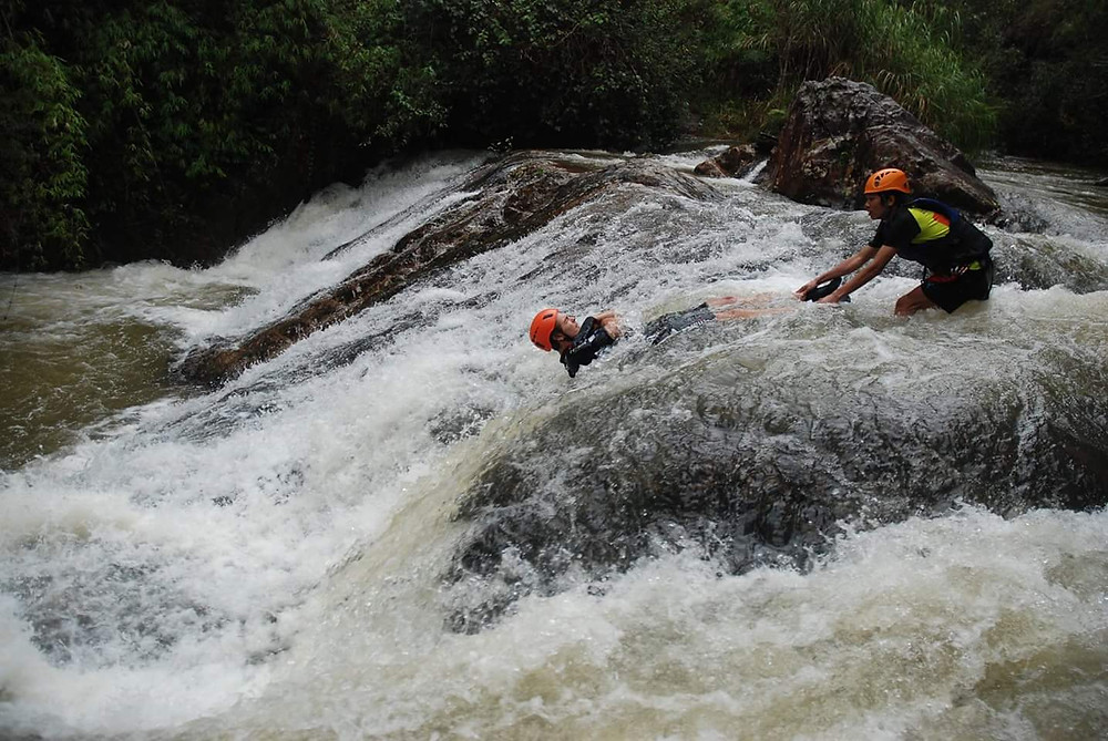 The Waterslide, Canyoning, Da Lat, Vietnam