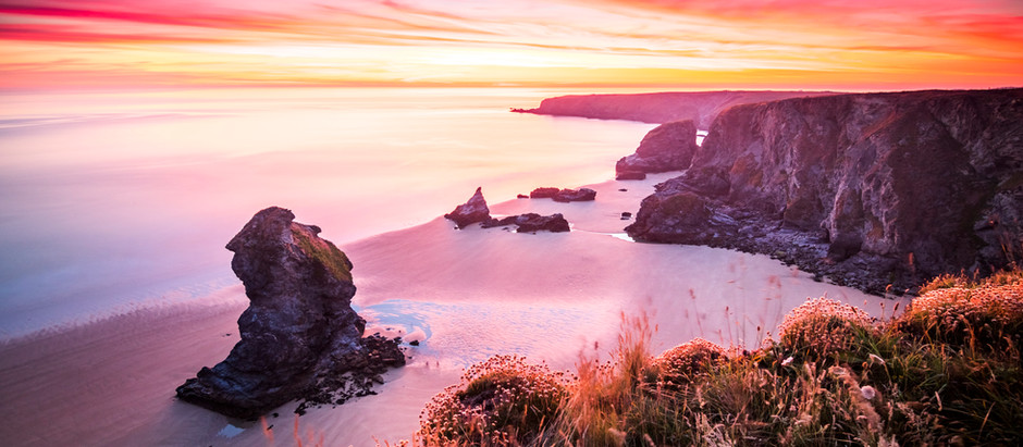The Best Coastal Walks In Cornwall! A Top 5 List Of The Most Stunning & Scenic Coastal Paths!