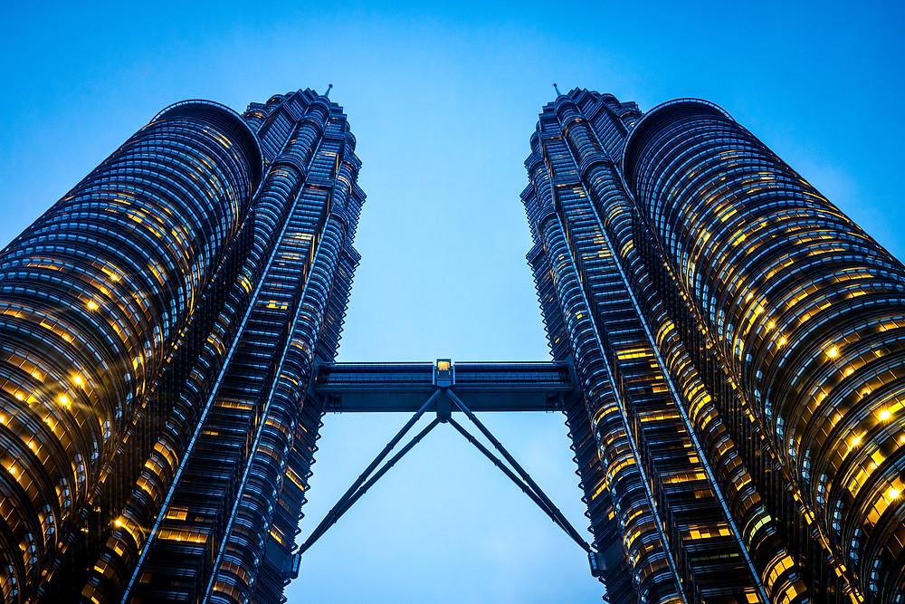 Petronas Towers, Kuala Lumpur, Malaysia, Sunrise