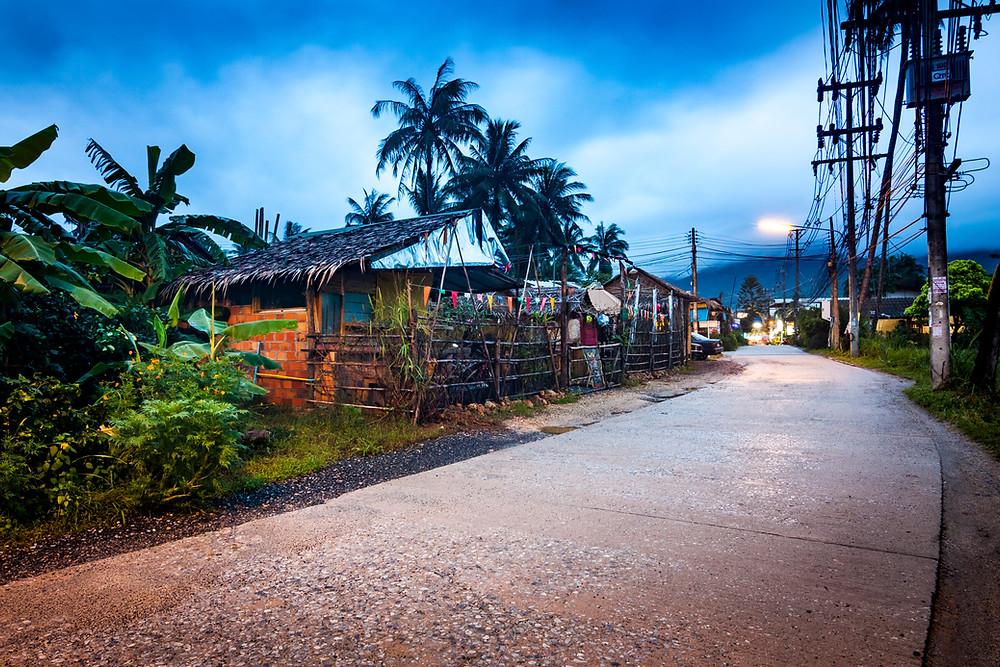 Maenam, Koh Samui, Thailand, Night